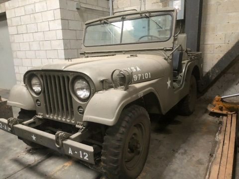 1952 Jeep M38 for sale