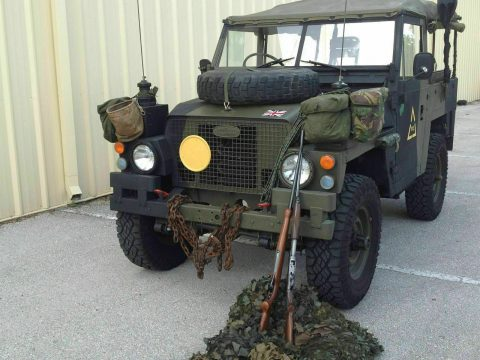 1977 Land Rover Military 1/2 ton Truck British Army Jeep for sale