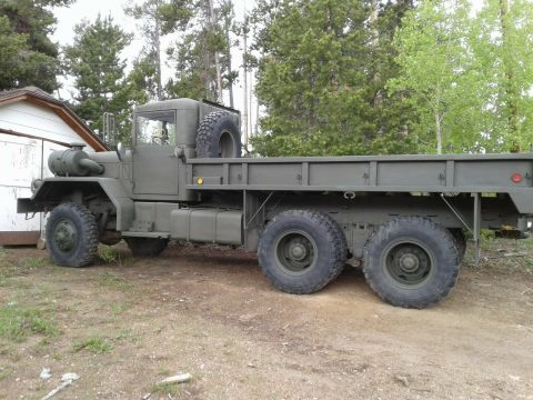 1983 Kaiser M813 Military Truck 5 Ton 6×6 Cummins Diesel for sale
