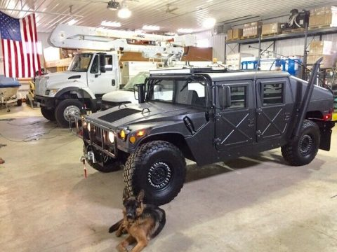 1992 AM General Military Humvee and Trailer for sale