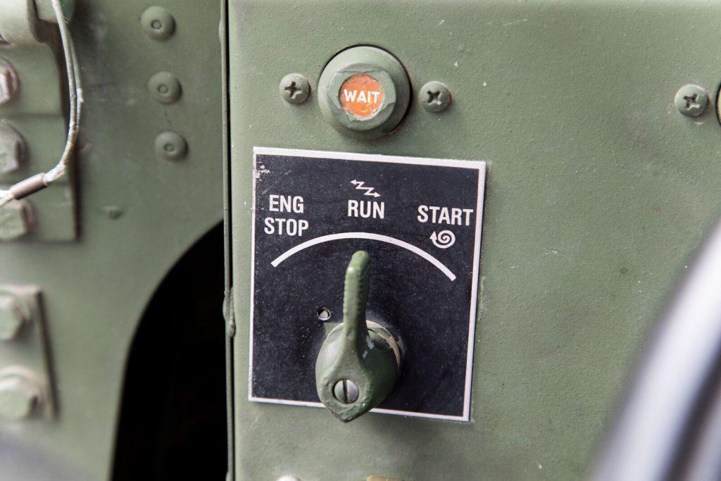1999 AM General Hummer Open Top USMC