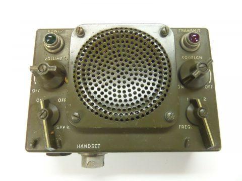 Control Radio Set C 847/u, Signal Corps, army Radio Military Radio Vietnam radio for sale