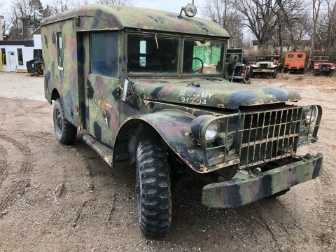 Dodge M43 Ambulance 4×4 Military Power Wagon for sale