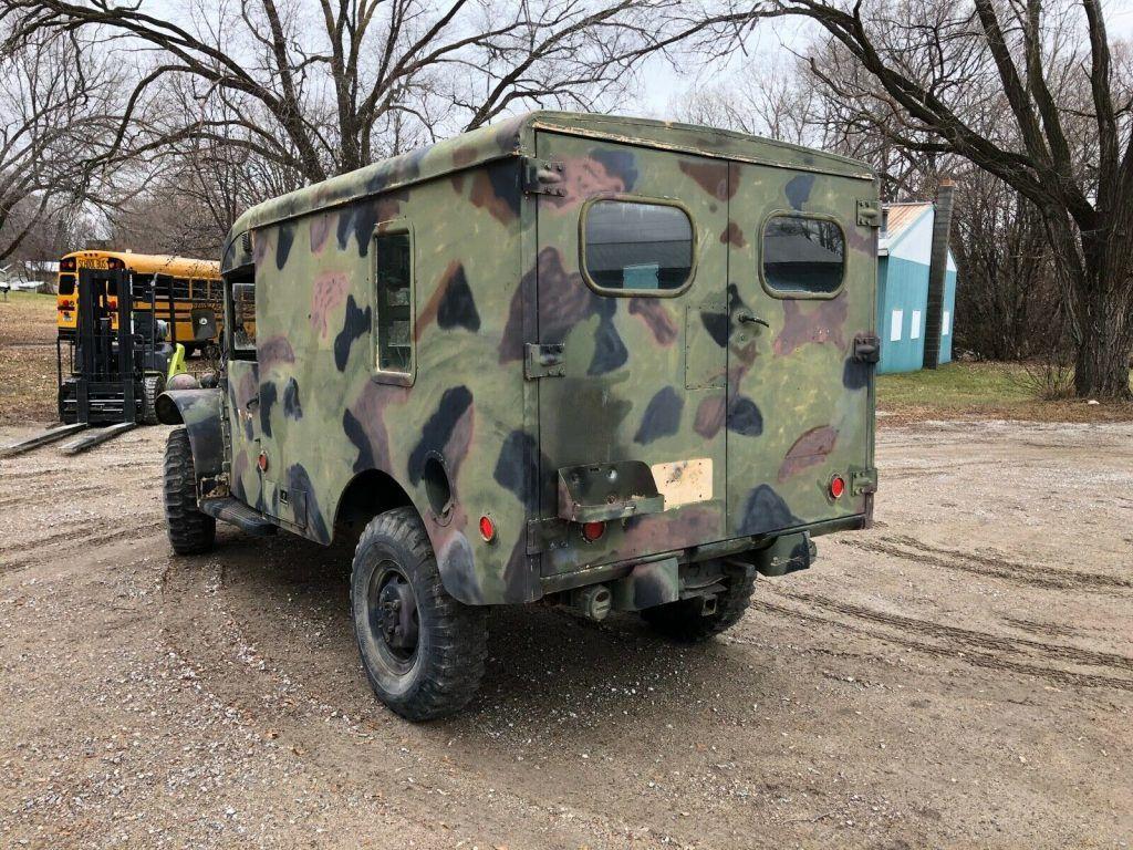 Dodge M43 Ambulance 4×4 Military Power Wagon