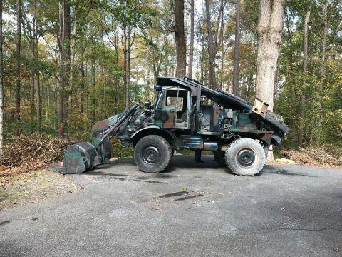 FLU 419 Unimog military tractor for sale