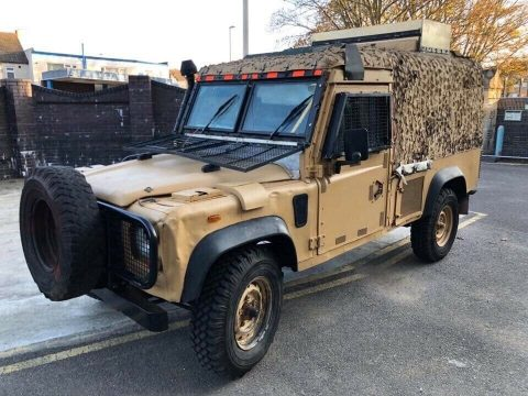 Land Rover Snatch 1.5 Armored Car Iraq for sale