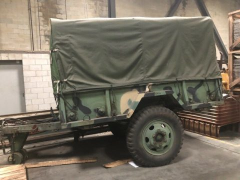 M105a2 Military 1 1/2 Ton Cargo Trailer for sale