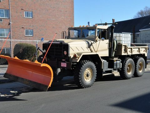 Military 6X6 PLOW TRUCK 1990 for sale