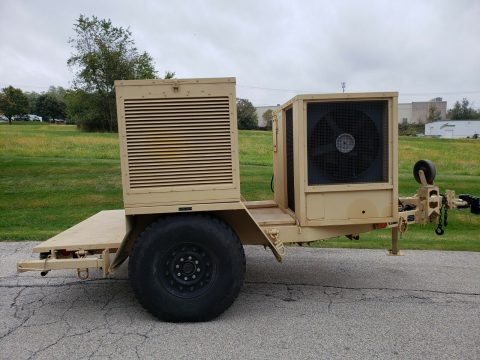 Military Generator ECU Trailer for sale