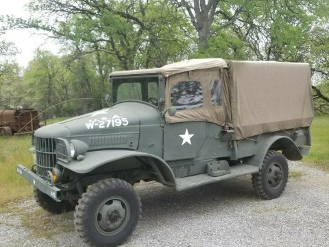 1941 Dodge WC21 half ton for sale
