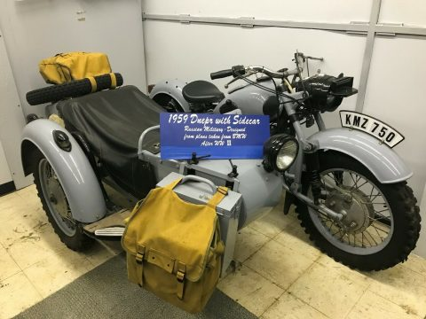 1960 Ural Dnepr Motorcycle with Sidecar for sale