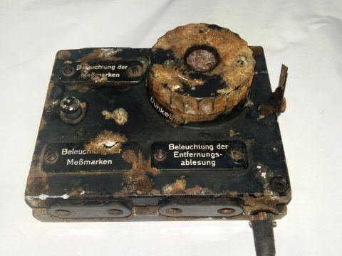 WW2 German Stereoscopic 1M Light regulator. for sale