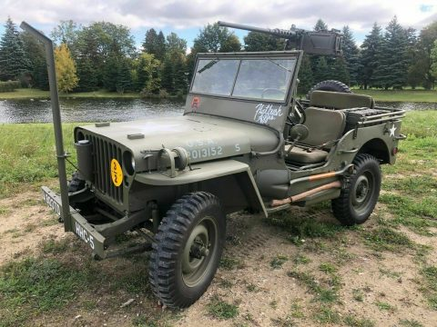 1942 Jeep Willys Ford GPW for sale