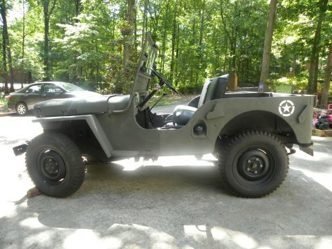 1947 Willys CJ2A MILITARY for sale