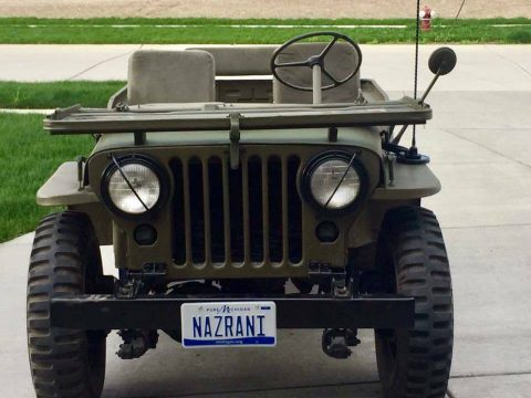 1953 Jeep Willys Model 38 Truck for sale