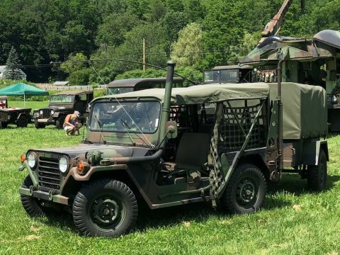 AM General MUTT Jeep and trailer for sale