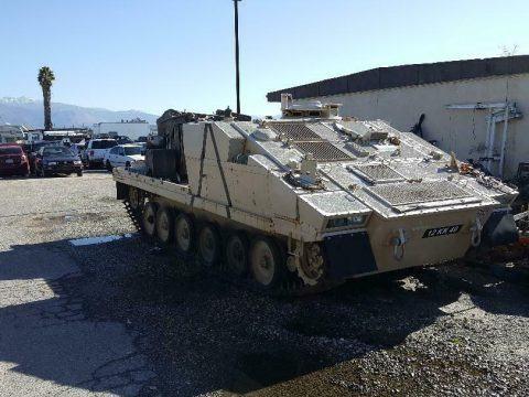 British Alvis TANK EX Missile LAUNCHER for sale