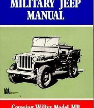 Complete WW2 Military Jeep Manual Tm9 803, Tm9 1803a, Tm9 1803b Etc for sale