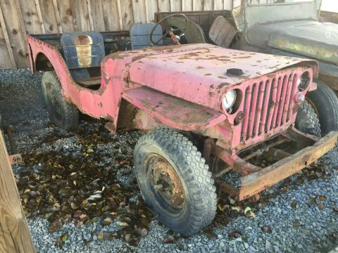 1942 Ford GPW Willys MB for sale