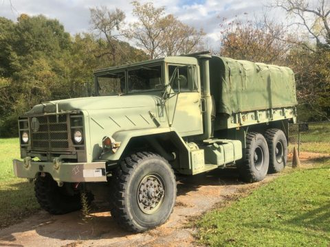 1991 M923a2 BMY 5 Ton Military Truck & Trailer for sale
