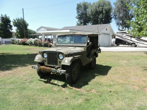 1952 Jeep CJ military M38A1 for sale