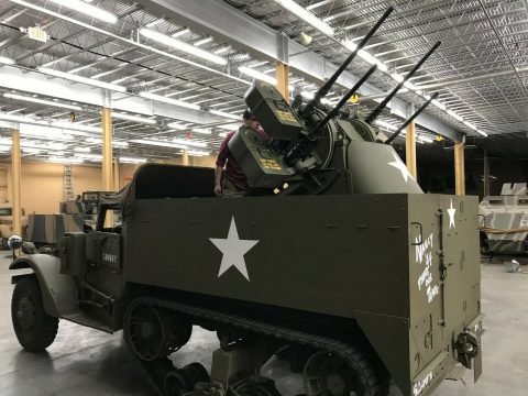 "1943 Armored Personnel Carrier M3 Half Track ""Meat Chopper"" for sale"