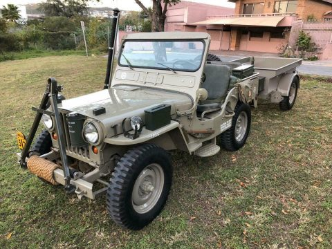 1952 Jeep Willys M38 with Full Original Accessories for sale