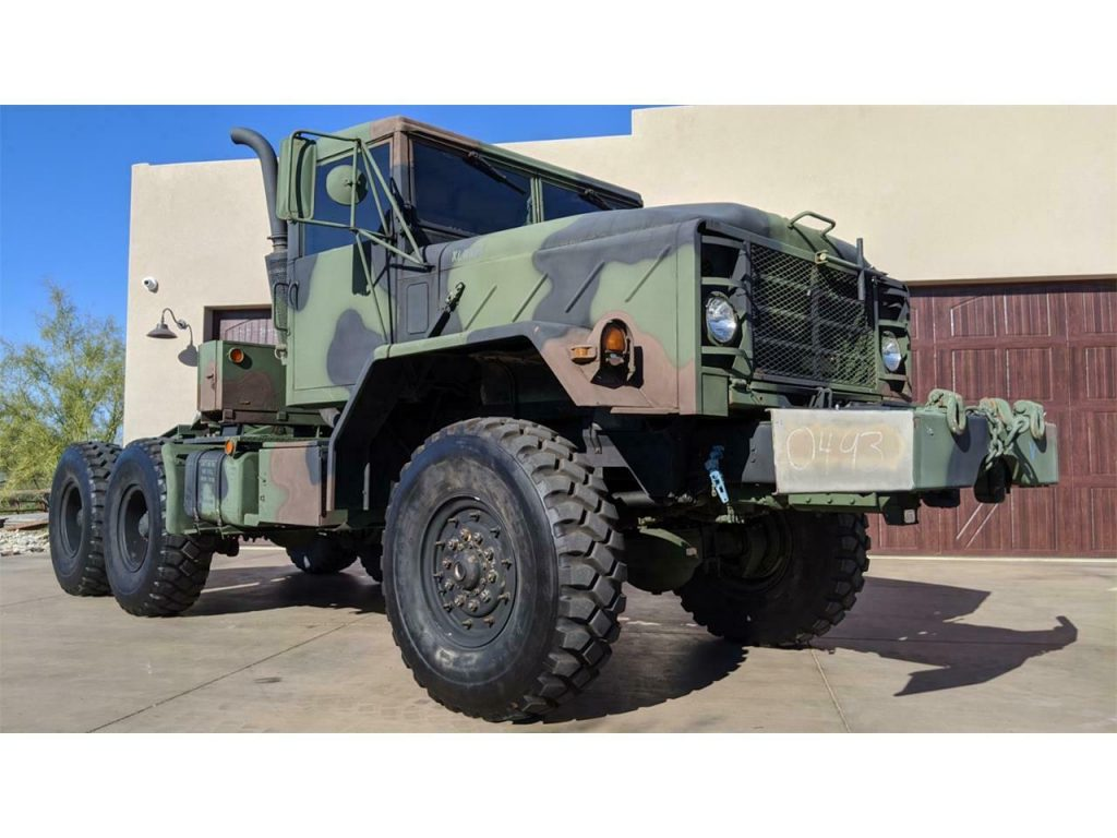 1986 AM General M-932 6×6 Military Truck