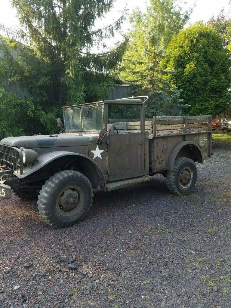 Dodge M37 Military Power Wagon