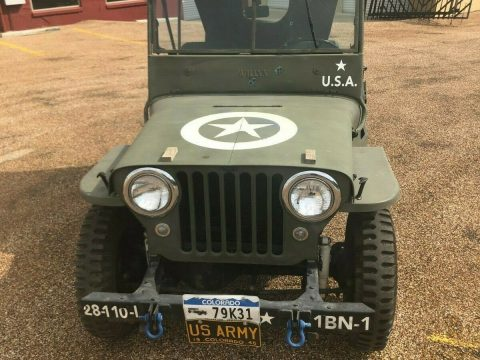 1946 Jeep CJ Military for sale