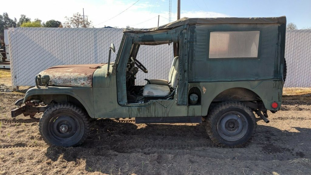 1962 Jeep Willys M170