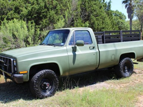 1986 Chevrolet CUCV M1008 military pickup. 6.2L for sale