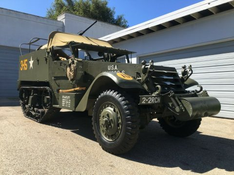 1943 M2 US Army Halftrack for sale