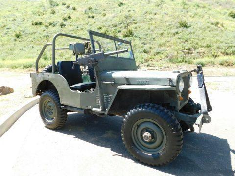 1946 Jeep Willys CJ2A ARMY for sale